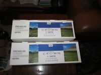 Brand new Crown C-Q2612A Laser Toner Cartridges set of two