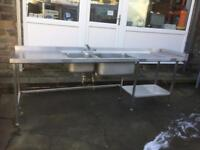 Large Commercial Kitchen Sink