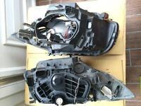 BMW. 116 headlights.