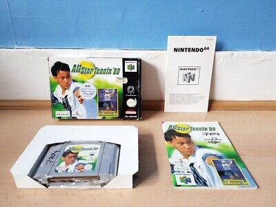 All Star Tennis '99 N64 Complete Good Con