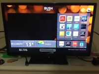 Bush 24 inch HD ready Smart TV with DVD player,bought for £160-selling for negotiable price