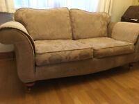 BARGAIN!! £250 - Three piece suite, 3 seater sofa plus arm chairs