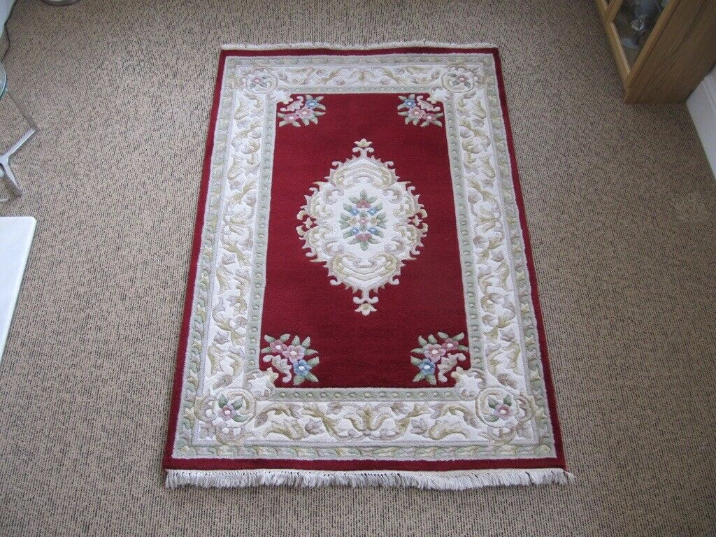 Hand Made Oriental Traditional Rug 74