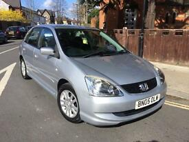 HONDA CIVIC 1.6 AUTOMATIC 5 DOOR FACELIFT MODEL 1 OWNER