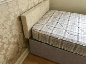 Single bed, excellent condition.as new