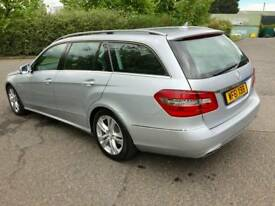 MERCEDES E CLASS 61 REG 7 SPEED AUTO IN STUNNING CONDITION