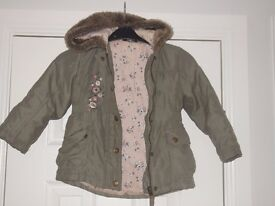 green jacket 3-4yrs collect or deliver Stonehaven only, no postage