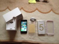 iphone 5, 16gb, black & slate, unlocked to all networks,