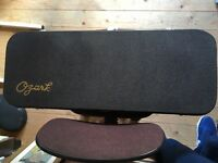 Ozark solid top 2255 'F' Model Mandolin. With padded bag. Like new condition.