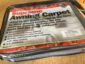 Caravan porch awning carpet 2.5m x 3m new still in bag