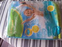 Kids Paddling Pool 3 Ring Pool 104cm New In Original Packaging