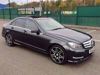 2013 63 PLATE Mercedes-Benz C Class 2.1 C220 CDI AMG Sport Plus 7G-Tronic Plus 4dr - CAT D