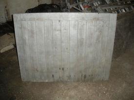 "FRAMED BATTON & BRACE GATE 46 1/4"" x 35 1/2"""