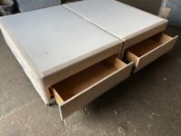 NEW - EX DISPLAY BED BASES ALL SIZES - TOP BRANDS FROM £49 - 70% OFF RRP