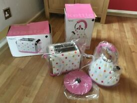 Next matching kettle and 2 slice toaster