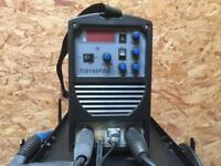 R-Tech 160 PDC Tig Welder with trolley. Nearly new.