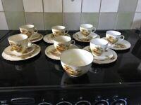 "Alfred meakin vintage tea service crockery "" the hayride"""