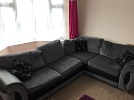 Corner Sofa with Sofa Bed built in