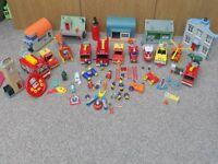 Very Large Bundle of Fireman Sam Toys/Vehicles/Houses