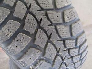 195/60R15	GOODYEAR NORDIC WINTER RIMS AND TIRES