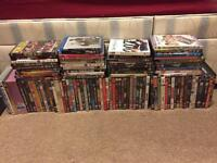 Job lot of DVDs and blurays x100