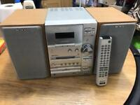 Sony Radio CD player and cassette