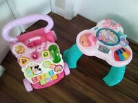 Baby walker & activity table