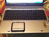 hp pavilion laptop dv9700 dv9000 dv9850ea 2.4 ghz amd turion 64x2 tl-68 nvidia + more