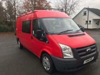 2011 Ford Transit Crew Cab 6 Seater T300