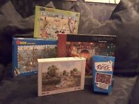 7 NEW JIGSAW PUZZLES.