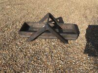 Large Solid Wood Trivit/Basket