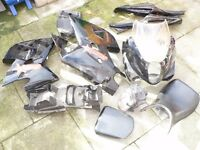 hyosung gt125 r fairing and panels