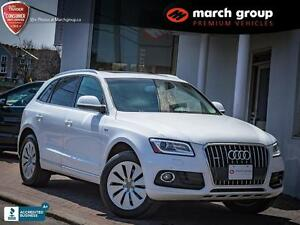2013 Audi Q5 Hybrid - Navigation/Pan Roof