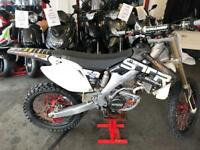 Honda CRF250R 2008 Twin pipe & straring damper model very quick bike