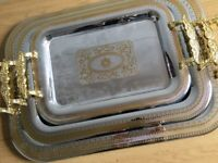 Brand new Italian tea tray set
