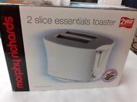 2 slice toaster - Morphy Richards (boxed)