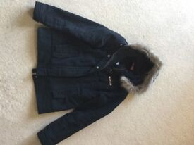 Ladies Animal Padded Jacket