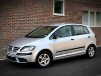 LEFT HAND DRIVE 2008 VOLKSWAGEN GOLF PLUS 1.9TDI [DSG]DIESEL/UK REG/ONLY 54k MILES!/FULL HISTORY/LHD