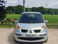 RENAULT GRAND MODUS AUTOMATIC 2006 5DOOR 1LADY OWNER 13 SERVICES 89900 MILES HPI CLEAR