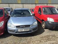 2006 Ford Focus Sport, 1.6 Petrol, Breaking for parts only, All parts available