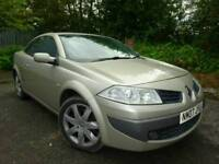 2007 MEGANE CONVERTIBLE *NEW MOT* 1.9 DCI 130 DYNAMIQUE Vauxhall astra RENAULT DIESEL 6 SPEED
