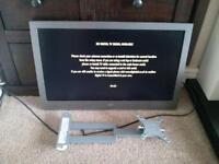 Bush 24inch HDMI TV with swivel wall mount