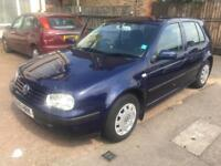 VW GOLF 1.6 AUTOMATIC PETROL 5DOOR SPARE OR REPAIR GEARBOX PROBLEM YOU NEED RECOVERY TO COLLECT