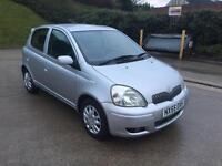 **TOYOTA YARIS COLOUR COLLECTION 1.0 PETROL (2005 YEAR)**