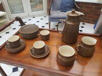 Vintage - 1960s - Wilsgrove Ware Pottery - Rhodesia - Coffee Set & Bowl