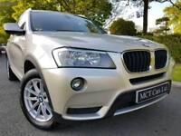 2011 BMW X3 2.0d Xdrive SE Automatic 184bhp 4x4! Heated Leather, Sat Nav, Media, Great Spec! FINANCE