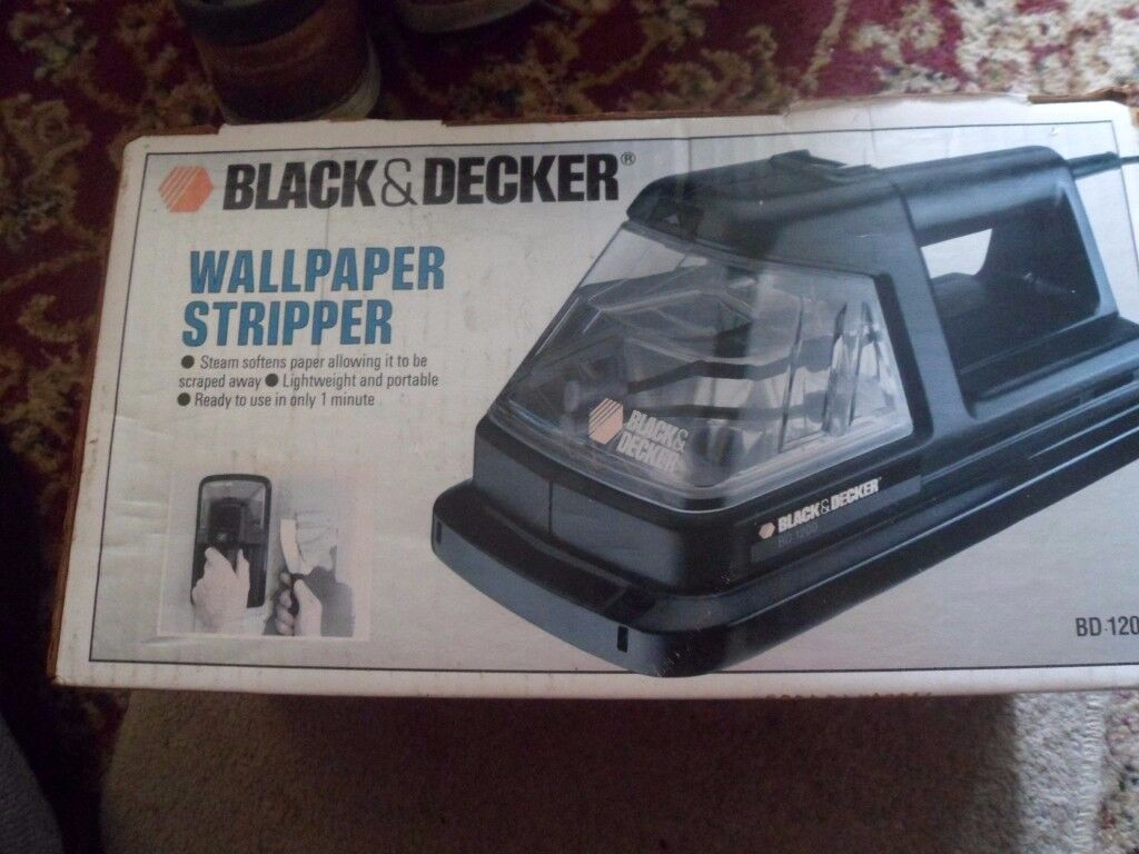 BLACK AND DECKER WALLPAPER STRIPPER/STEAMERMODEL BD 1200
