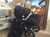 Limited edition navy bugaboo cameleon 3