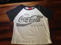 Women's Coca Cola top