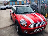 MINI COOPER 1.6 PETROL MANUAL RED 2006 FACE LIFT 89000 MILES SERVICE HISTORY AIRCON
